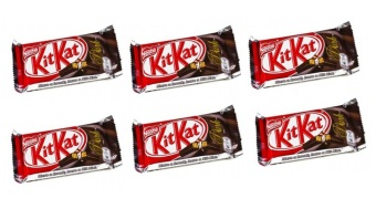 Nestle Kit Kat 4F Dark 41.5g - Set of 6 Price Philippines