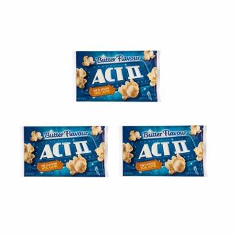 ACT II Butter Flavour Popcorn 85 grams (SET OF 3) Price Philippines