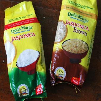 Harga Doña Maria Rice Jasponica White and Brown 1kg