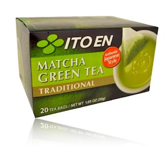 ITO EN Matcha Green Tea Traditional 20bags Price Philippines