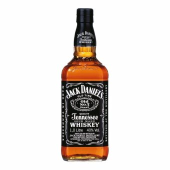 Jack Daniel's Old No. 7 Tennessee Whiskey 1 Litre