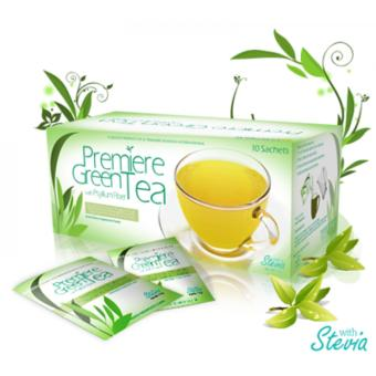 JC Premiere Green Tea with Psylium Husk 7g (10 sachets)