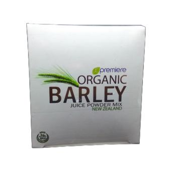 JC Premiere Organic Barley Juice Powder with Stevia 10 sachets