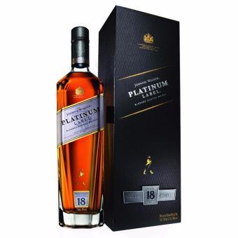 Johnnie Walker Platinum Label 18 Year Blended Scotch Whisky 750ml