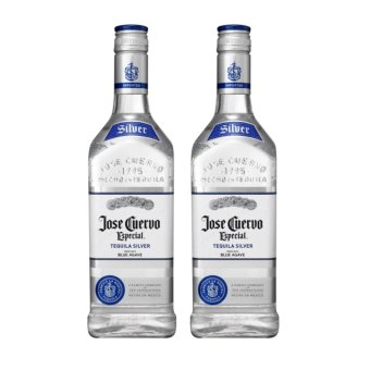 Jose Cuervo Tequila Silver Blue Agave (700ml) with Free Gift Box -Set of 2
