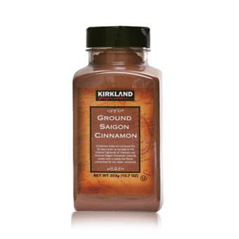 Kirkland Cinnamon Ground Saigon Cinnamon 303g (10.7 oz)