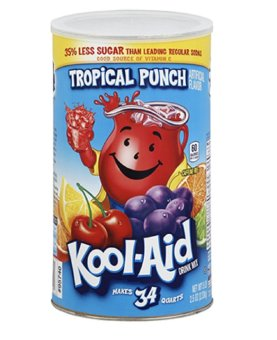 Kool-Aid Tropical Punch Drink Mix 82.5oz (2.33kg) Price Philippines