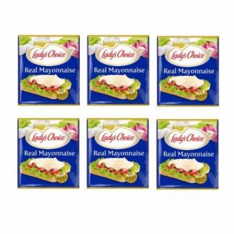 Lady's Choice Mayonnaise 80ml - Set of 6