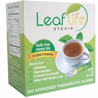 Leaflife Stevia 100% Natural Sweetener Price Philippines