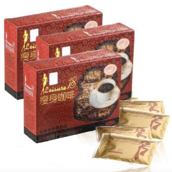 Leisure 18 Slimming Coffee Set of 3 Price Philippines