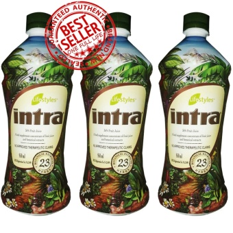 Lifestyles Intra 23 Herbal Juice 950ML (3 Bottles)