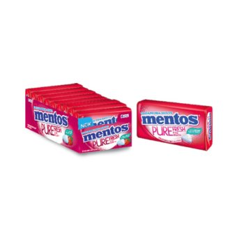 Mentos Pure Fresh Sugarfree Strawberry Tins Price Philippines
