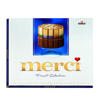 Merci Finest Selection Assorted European Milk Chocolate (Pack of 2)