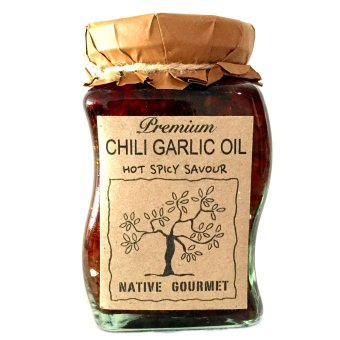 Native Gourmet Chili Garlic Oil 8oz