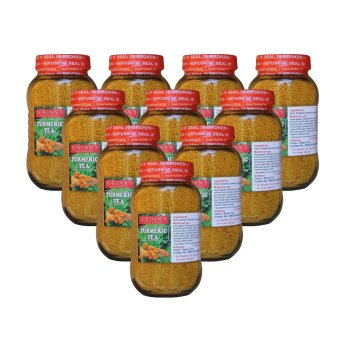Natural Turmeric Tea (Clear Yellow) Bottle of 10