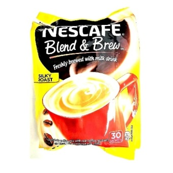 Nescafe Blend and Brew Silky Roast 20g (30 pcs) Pack Price Philippines