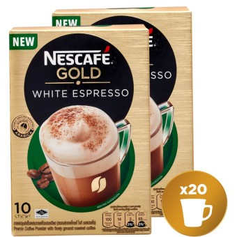 NESCAFE Gold White Espresso (Pack of 2)