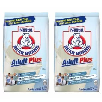 Nestle Bear Brand Adult Plus 1kg - Set of 2 Price Philippines