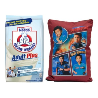 Nestle Bear Brand Adult Plus 1kg with Free Ang Probinsyano Pillow Price Philippines