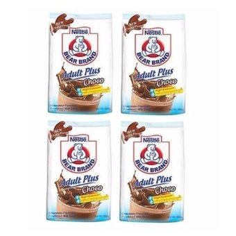 Nestle Bear Brand Adult Plus Choco 180g - Set of 4 Price Philippines