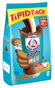 NESTLE BEAR BRAND CHOCO Milk Drink 900g Pouch
