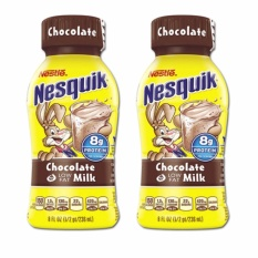 Buy sell cheapest nestle nesquik chocolate best quality product nestle nesquik chocolate milk 2 pack 236ml per bottle sciox Choice Image