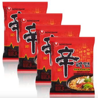 Nongshim Shin Ramen 120g Set of 4 Price Philippines