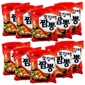 Nongshim Squid Champpong Noodles Set of 10 Price Philippines