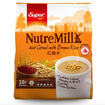 Nutremill 4in1 Cereal with Brown Rice 20 Sachets