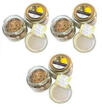 Obra Artigiano Rosemary Lemon Seasoned Salt (Set of 3)