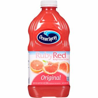 Ocean Spray Ruby Red Original Grapefruit Juice Drink 1.89L