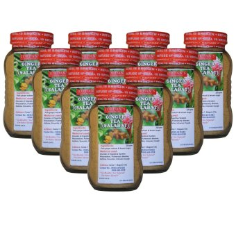 Organic Ginger Tea Bottle's of 10 (Clear Brown)