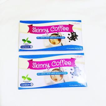 (Pack of 2) Be Fit with Sakura Skinny Coffee w/ L-Carnitine,Garcinia Cambogia & Green Tea Extract 15g