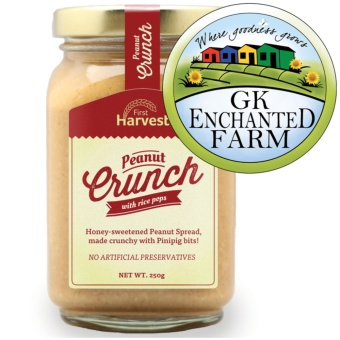PEANUT CRUNCH 250g from First Harvest | Crunchy Peanut Butter |Local Ingredients | Gawad Kalinga Enchanted Farm