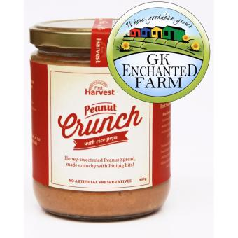 PEANUT CRUNCH 450g from First Harvest | Crunchy Peanut Butter |Local Ingredients | Gawad Kalinga Enchanted Farm