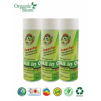 Plantex Organic All in One Cleaning Solution - Bundle of 3