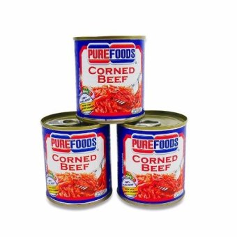 Pure Foods corned Beef 210g (3pcs) 010015 Price Philippines
