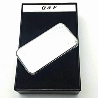 Q&F AM-283 Windproof Lighter with box (Silver) Price Philippines