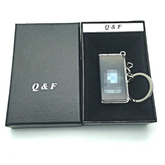 Q&F K-chain lighter with box (black) with FREE LD LACE