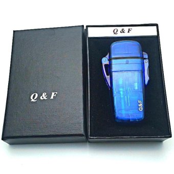 QF-original lighter(blue)Windproof Lighter with FREE LD LACE