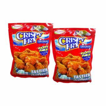 Red Ajinomoto Crispy Fry Breading Mix Original 238g 2's 392003 w51(MP)