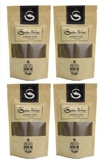 Saka Brew Roasted Rice Coffee with Coco Sugar 200 grams (Set of 4)