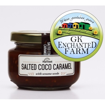 SALTED COCO CARAMEL 125g from First Harvest | Coco Jam | LocalIngredients | Gawad Kalinga Enchanted Farm Price Philippines