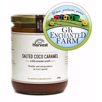 SALTED COCO CARAMEL 450g from First Harvest | Local Ingredients |Gawad Kalinga Enchanted Farm Price Philippines