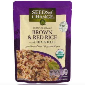 Seeds Of Change Brown & Red Rice With Chia & Kale, 240g Price Philippines