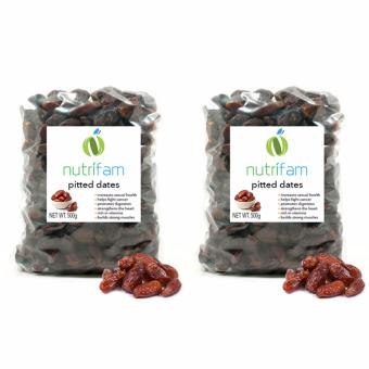 Set of 2 - Nutrifam US Pitted Dates 500g