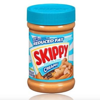 Skippy Peanut Butter Creamy (25% Less Fat Reduced Fat) 462g with FREE Rubber Bracelet LED Digital Wrist Watch (Color may vary)
