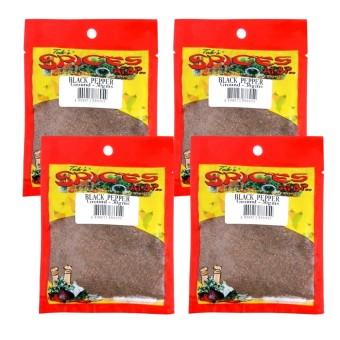 Spices at atbp Black Pepper premium quality ground 4x30g