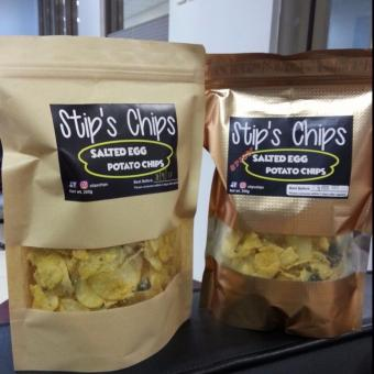 Stip's Chips Salted Egg Potato Chips 200g