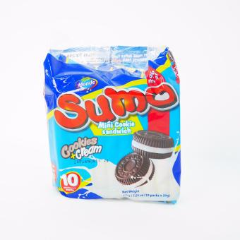 Sumo Mini Cookie Sandwich Cookies + Cream 200g 2's (Blue) 120770W43 (MP)